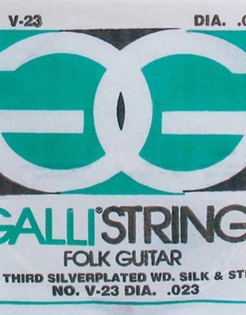 Galli Galli Folk Guitar G-3 snaar voor akoestische gitaar 023