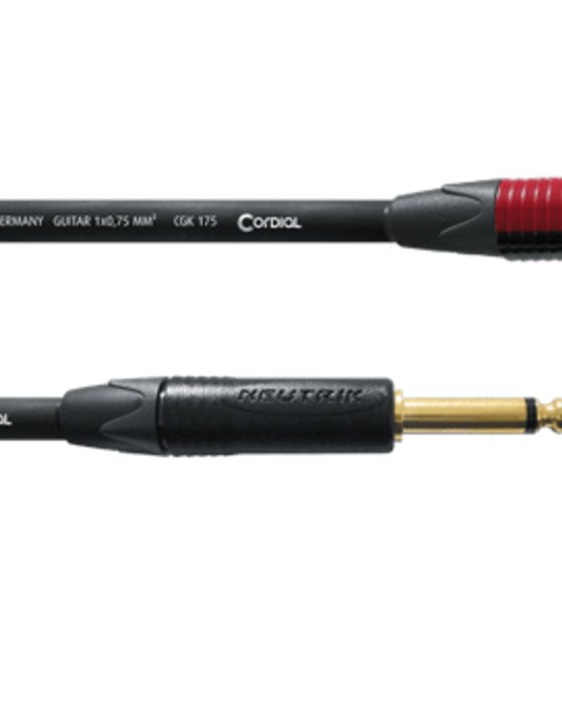Cordial Cordial  ECL CSI6RP met Neutrik silent plug 6m recht/haaks