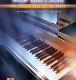 First 50 Pop ballads you should play on piano