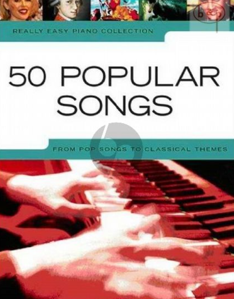 Really easy piano: 50 populair songs