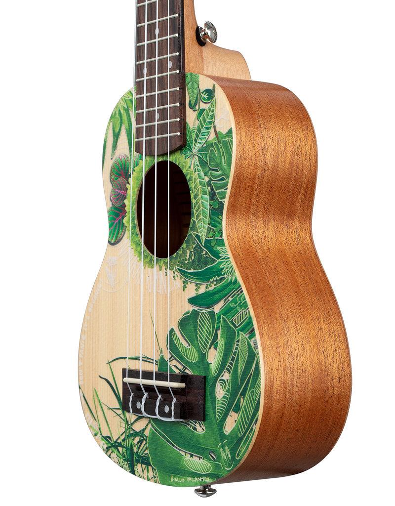 Cascha soprano ukulele Art series Leafy