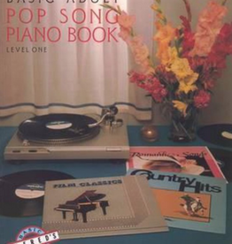 Alfred's basic adult popsong piano book