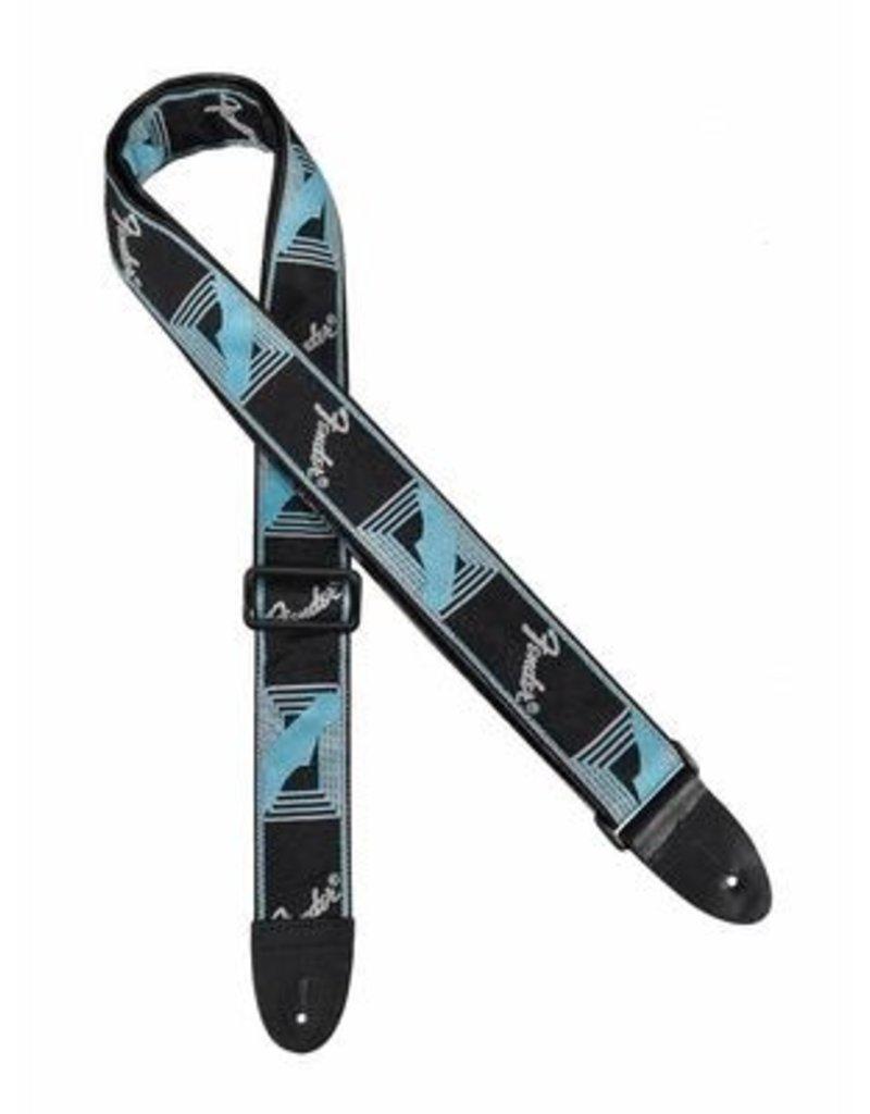 Fender Fender strap zwart/blauw/grijs