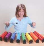 boomwhackers GO Percussion  Sound Tube set 8 diatonic incl. beater & bag