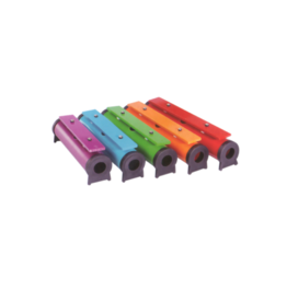 boomwhackers GO Percussion sound tube set 5 chromatic   incl. beaters &bag