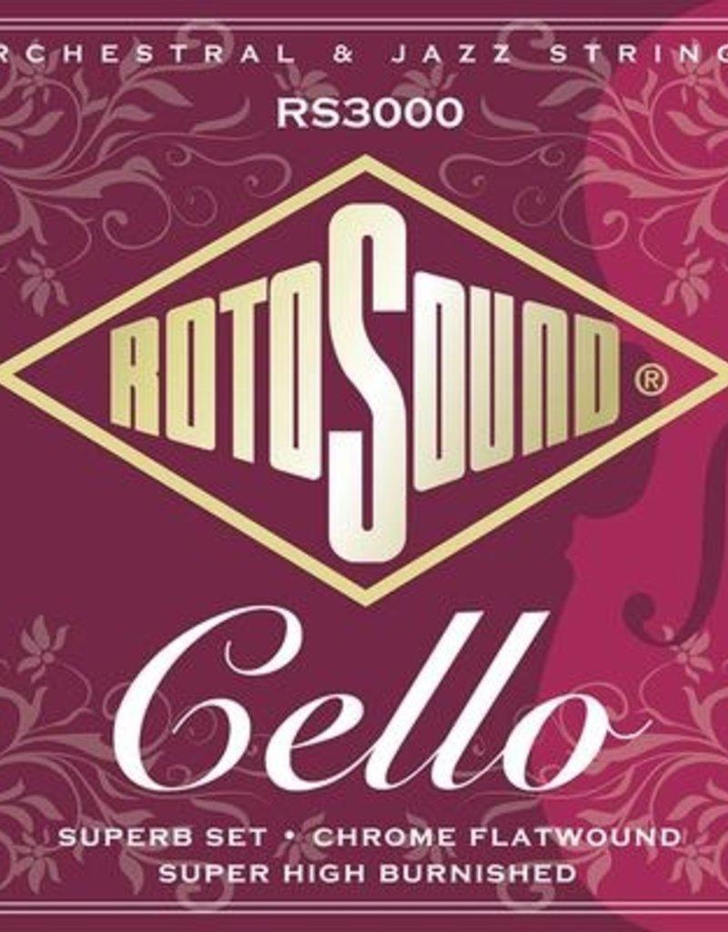 Rotosound Rotosound RS3000 Cello snaren set