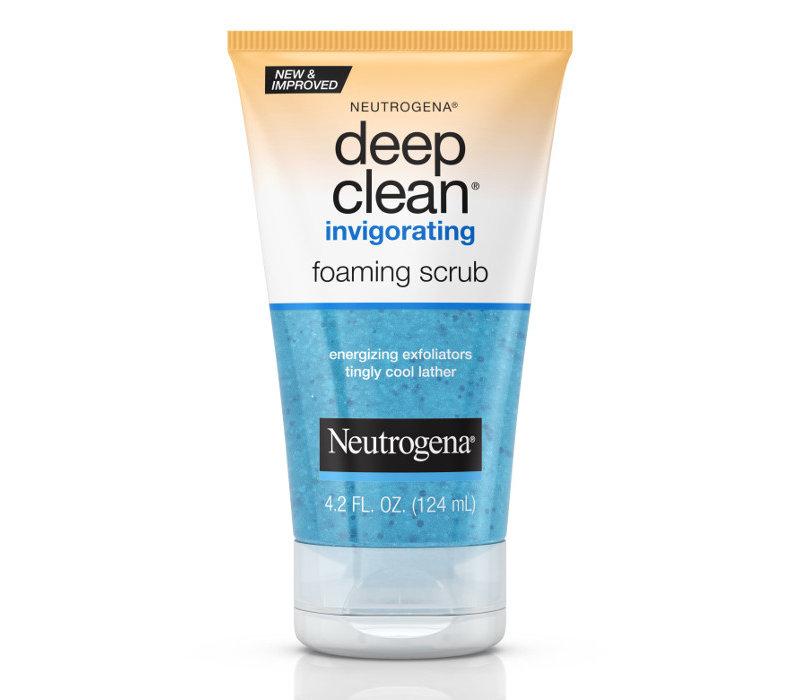 Deep Clean Invigorating Foaming Scrub