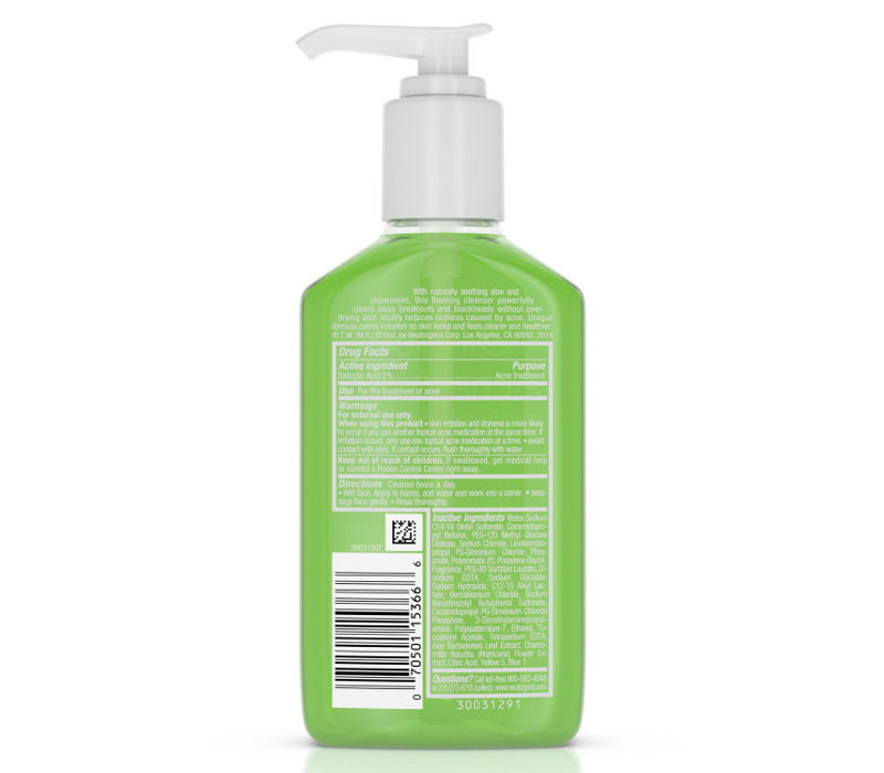 Oil-Free Acne Wash Redness Soothing