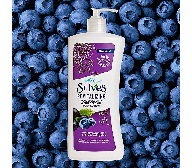 Revitalizing Body Lotion - Acai, Blueberry & Chia Seed Oil