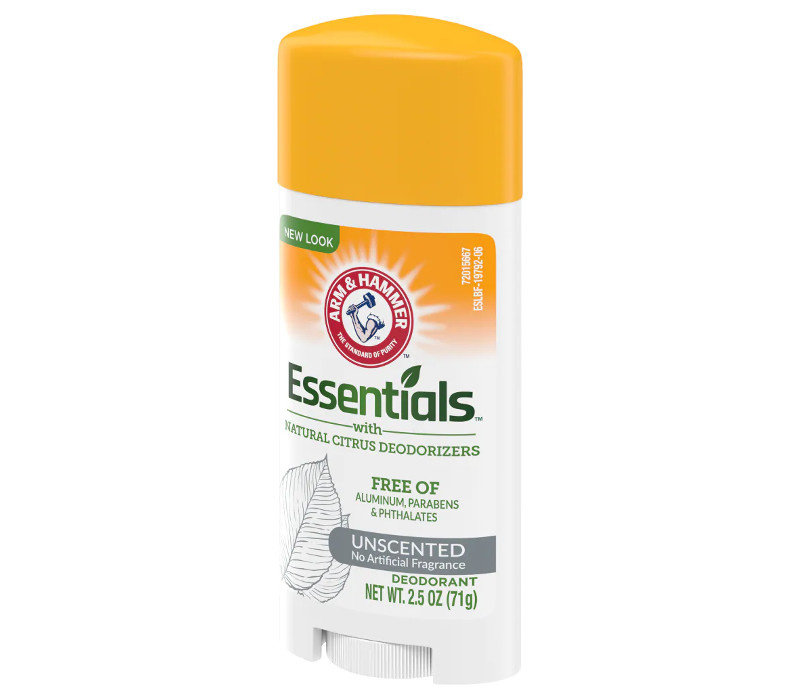 Essentials Deodorant - Unscented