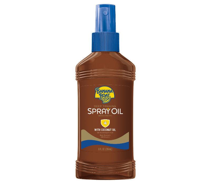 Deep Tanning Spray Oil