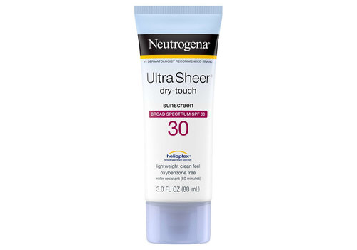 Neutrogena Ultra Sheer Dry-Touch Sunscreen SPF 30 / 45 / 55