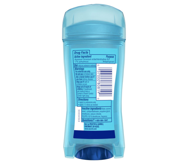 Outlast - Clear Gel - Protecting Powder
