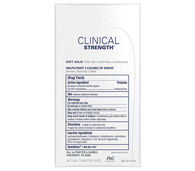 Clinical Strength - Soft Solid - Active