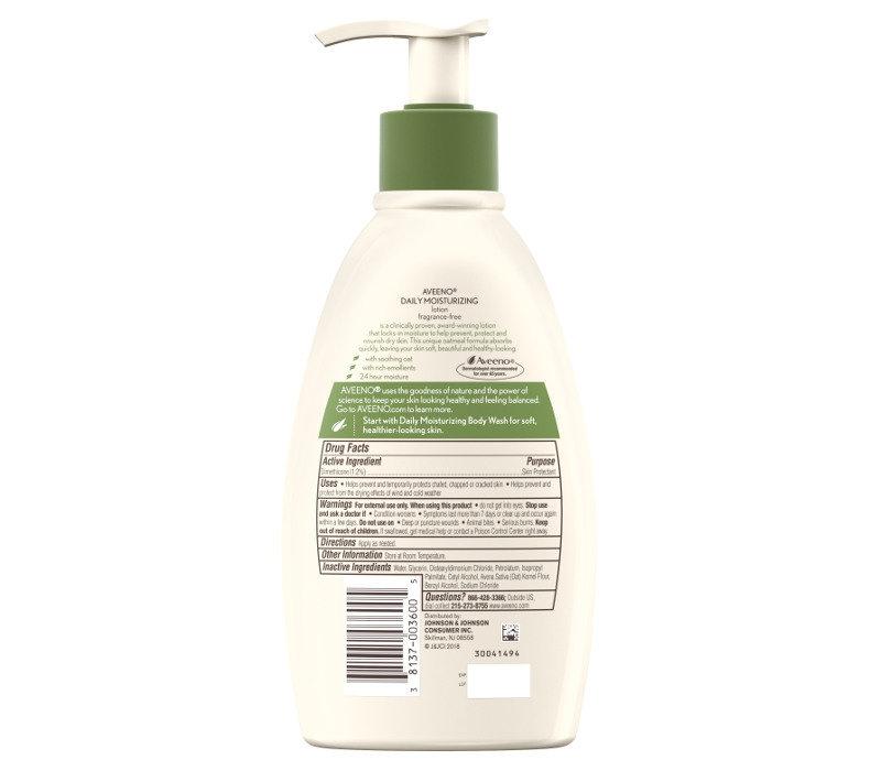 Daily Moisturizing Lotion Fragrance Free