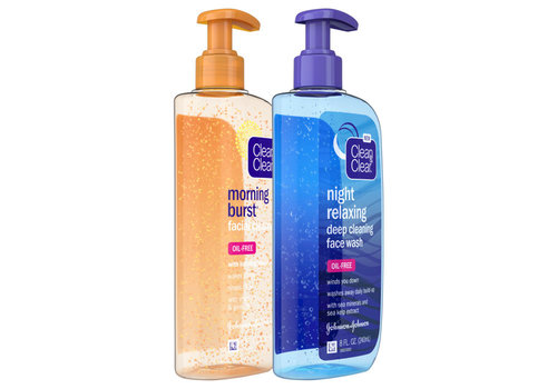 Clean & Clear Day / Night Cleanser 2-Pack