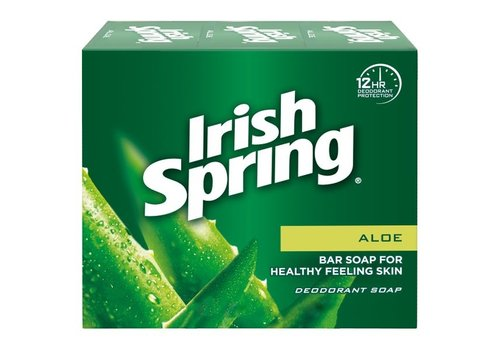 Irish Spring Aloe Bar Soap