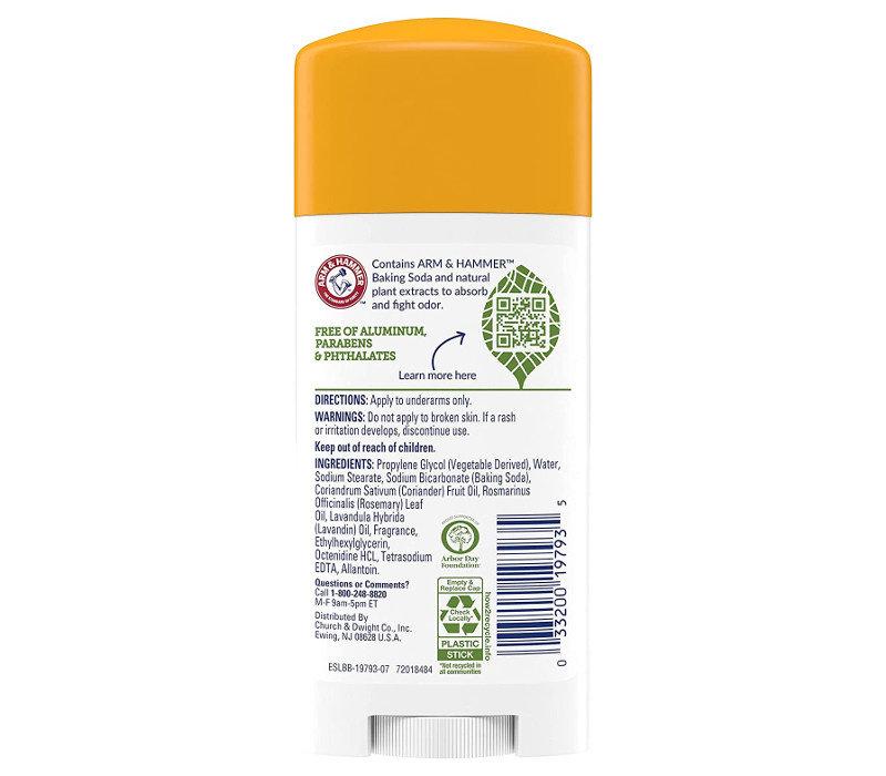 Essentials Deodorant - Rosemary Lavender