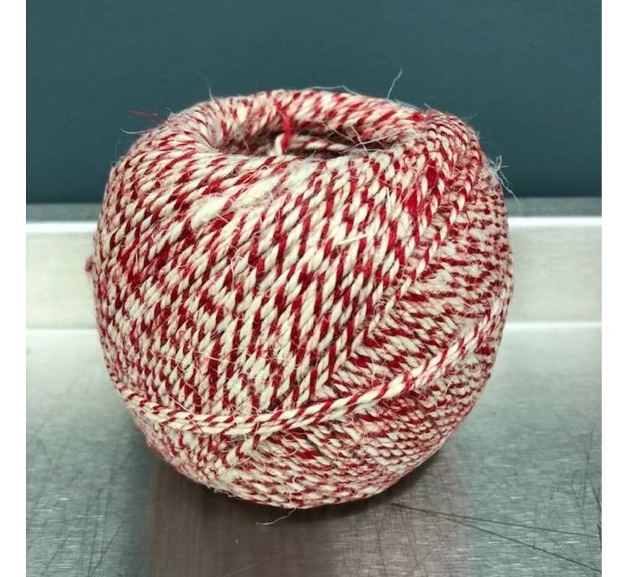Worst touw rood/wit