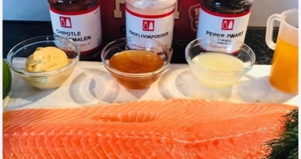 Recept: Warm gerookte zalm door Mele Best