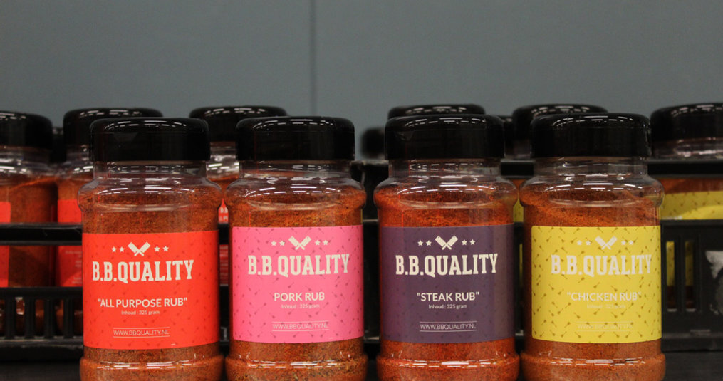 Private label: Van Beekum produceert Dry Rubs BBQuality