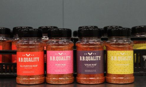 Private label: Van Beekum produceert Dry Rubs BBQuality