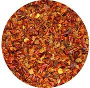 Paprika stukjes rood 1-3 mm