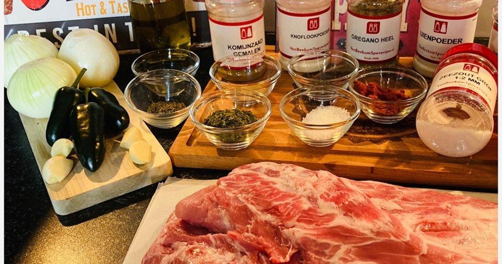 Gyros van de BBQ door Mele Best - Recept