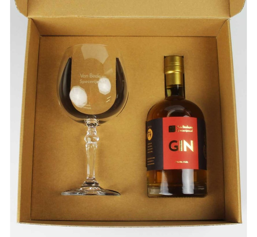Luxe Gin Box + Glas
