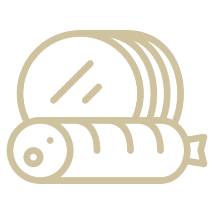 Darmen voor het maken van worst en vleeswaren