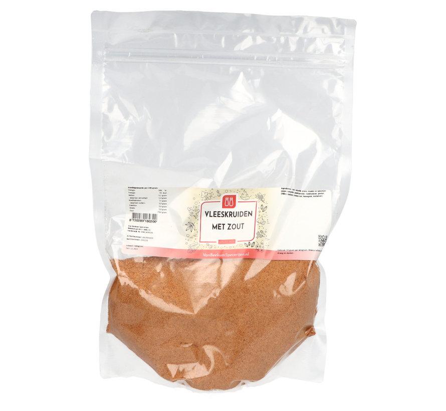 Vleeskruiden met zout