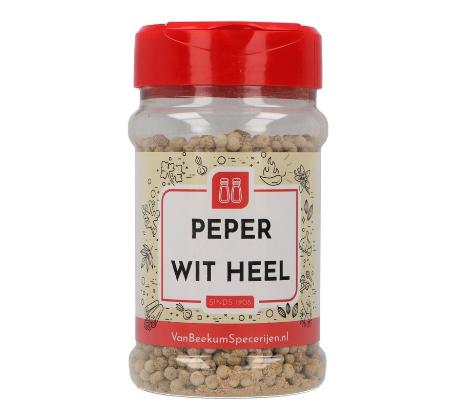Peper wit heel