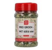 Prei groen wit 10x10 mm