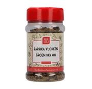 Paprika vlokken groen 9x9 mm