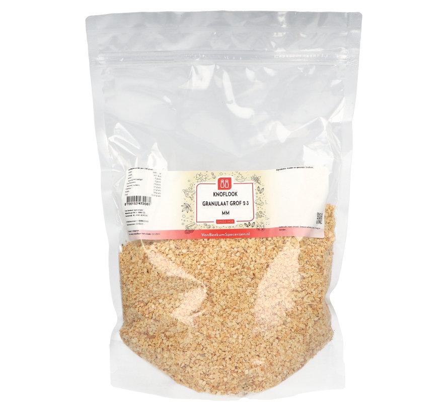 Knoflook granulaat grof 2-3  mm
