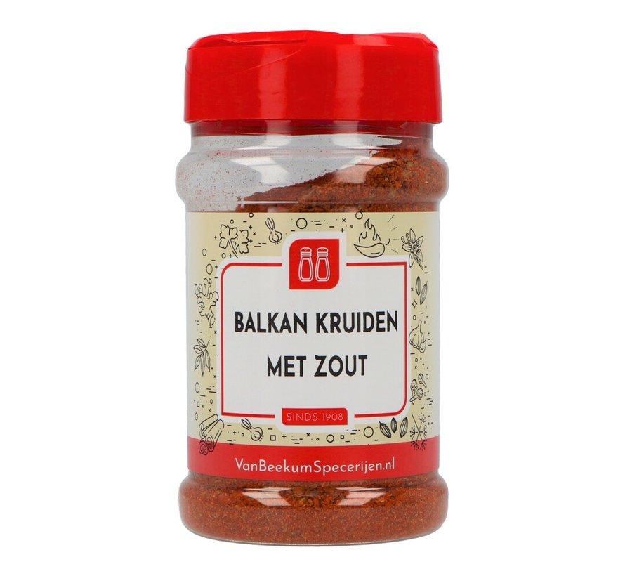 Balkan kruiden met zout