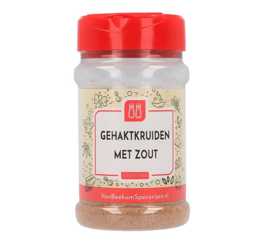 Gehaktkruiden met zout