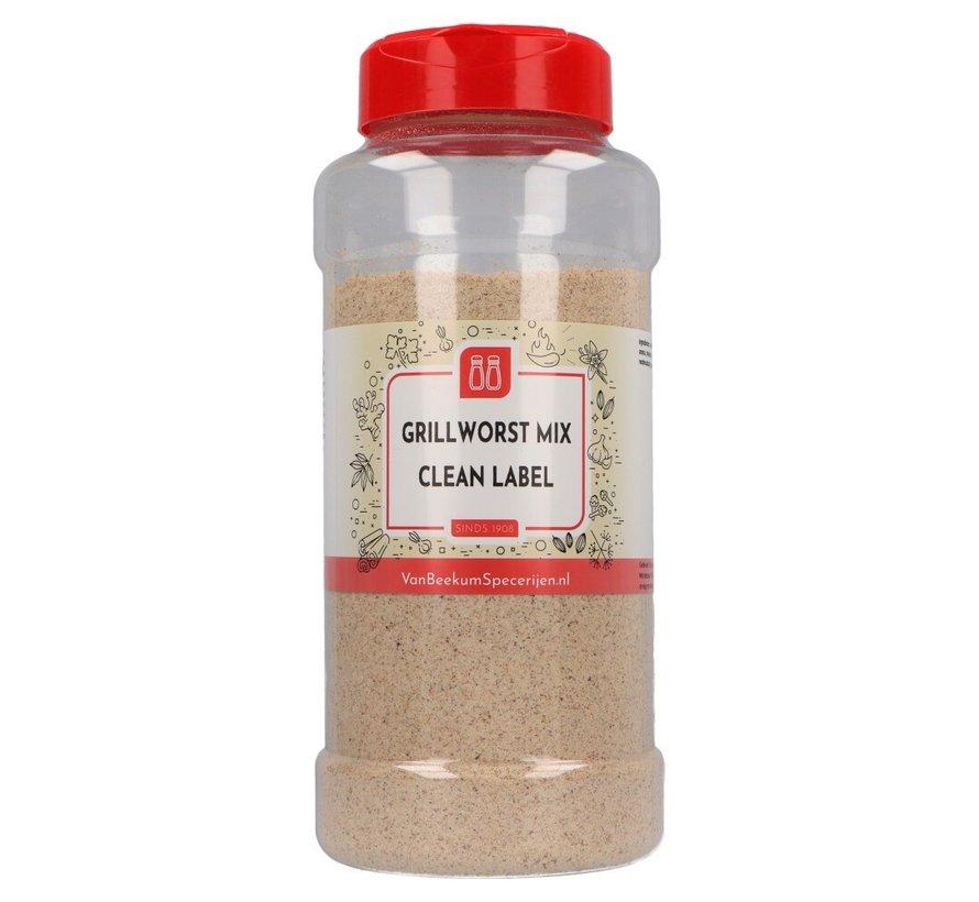Grillworst mix clean label