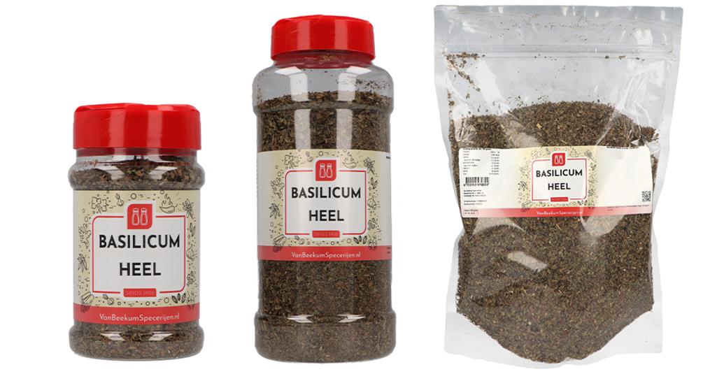 Basilicum heel | De kruiden uit de Italiaanse keuken!