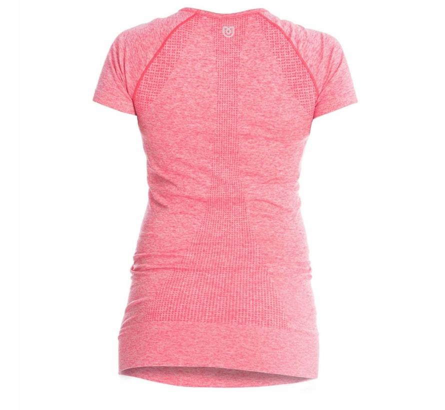 Maternity Sports Shirt Short Sleeve - Pink