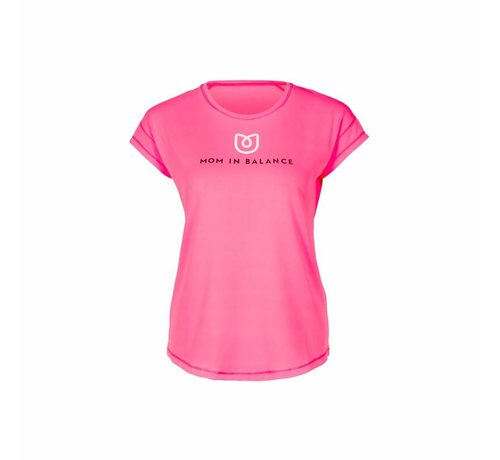 Mom in Balance Active Wear Sportshirt Korte Mouw - Challenge Yourself