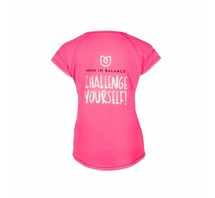 Sportshirt Korte Mouw - Challenge Yourself