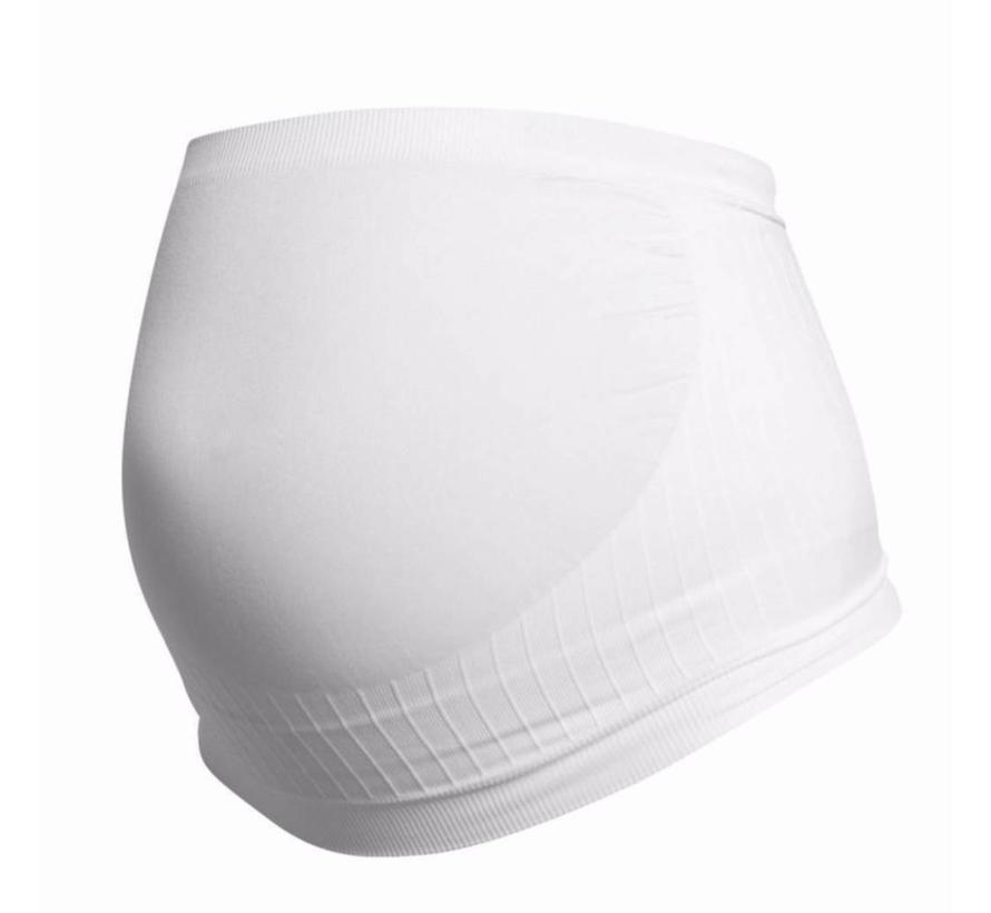 Seamless Maternity Support Band - White