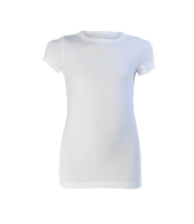 Zoïzo T-Shirt basic Weiß