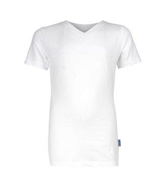 Claesen's T-shirt V-Ausschnitt Weiß