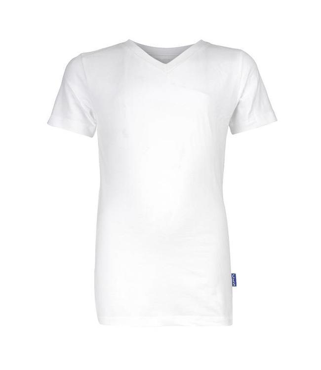 Claesen's T-shirt V-hals wit