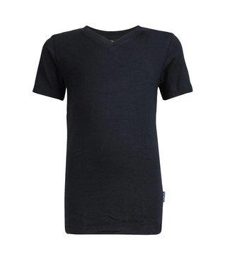 Claesen's T-shirt V-Ausschnitt Marine Blau