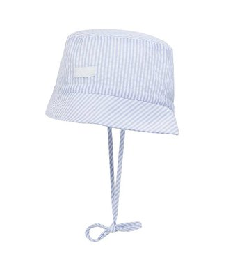 Döll Sunhat for baby stripes blue