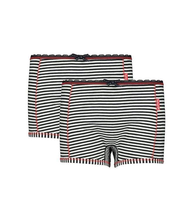 Claesen's Cutbriefs Navy Stripe, 2-pack