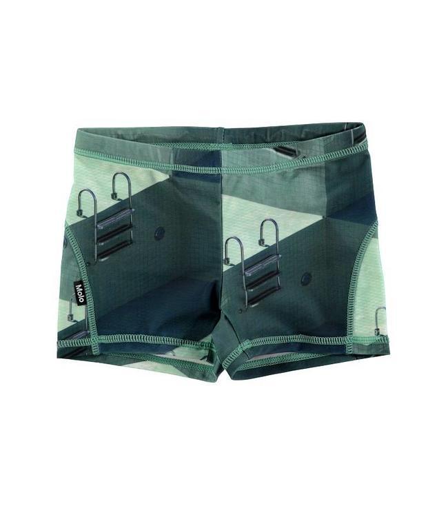 Molo Swim shorts Norton Graphic Pool